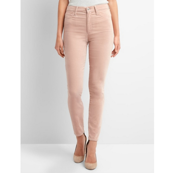 49c117cb860 NWT 24 GAP Super High Rise True Skinny Pink Jeans